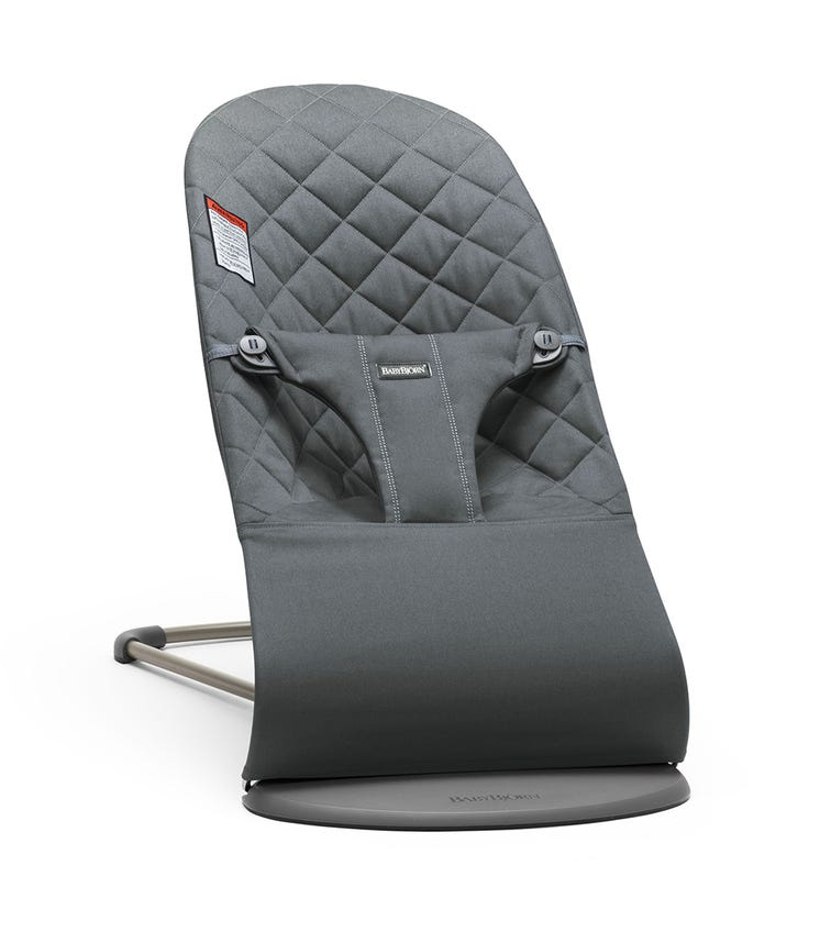 BABYBJORN  Bliss Bouncer (Cotton) -  Anthracite