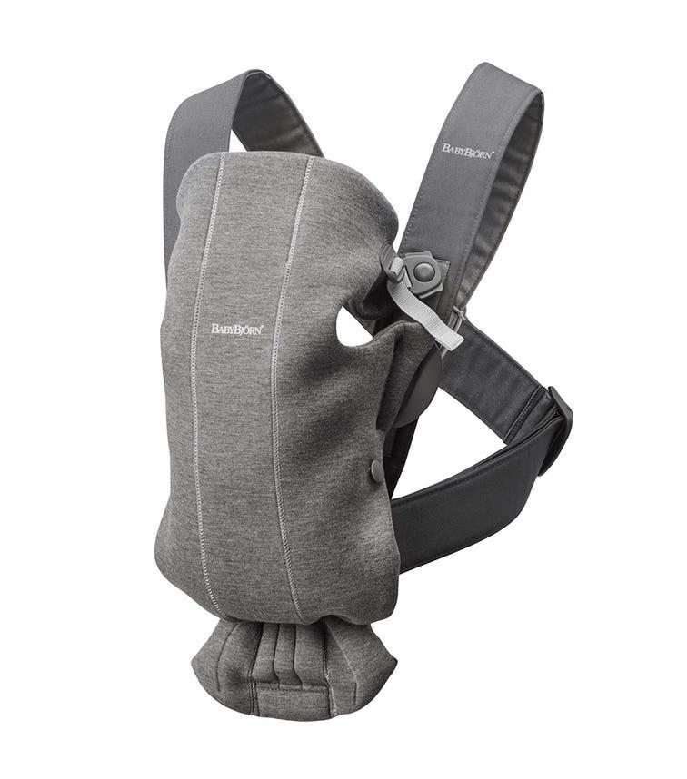 BABYBJORN  Baby Carrier Mini (3D Jersey) - Dark Grey