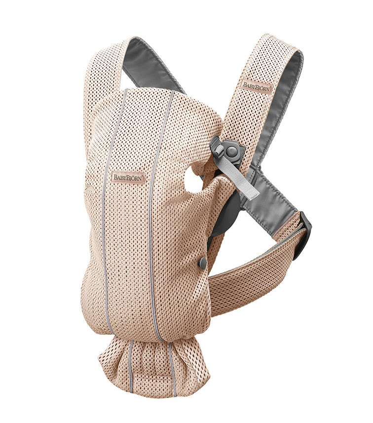 BABYBJORN  Baby Carrier Mini (3D Mesh) - Pearly Pink