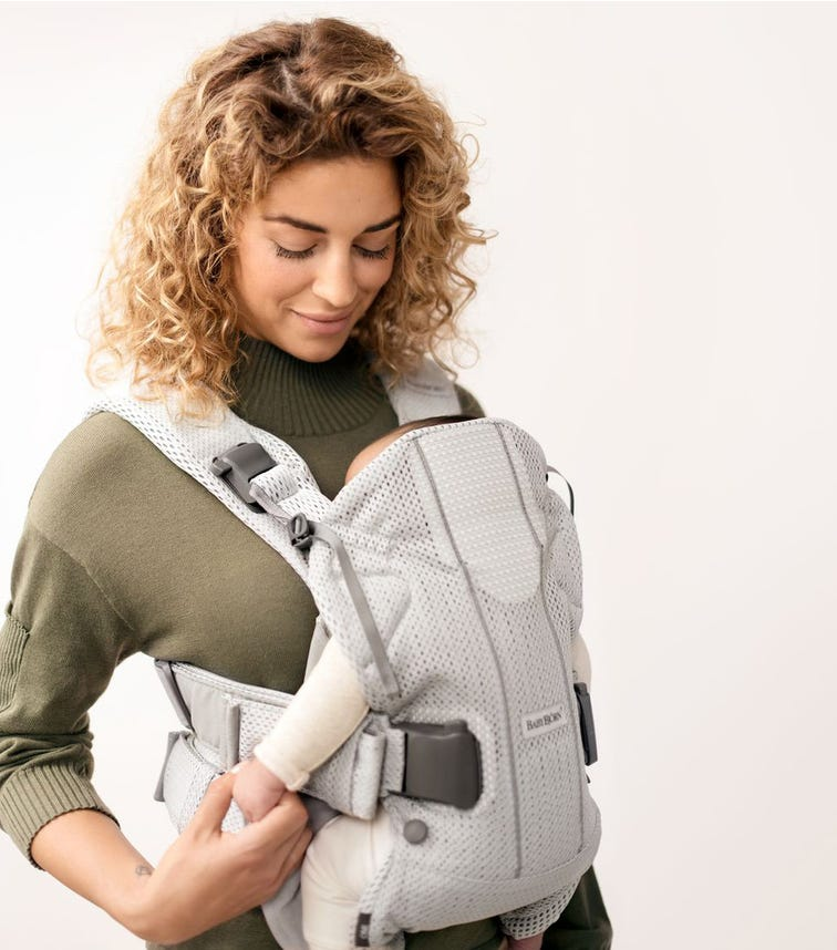 BABYBJORN  Baby Carrier One Air (3D Mesh) - Silver