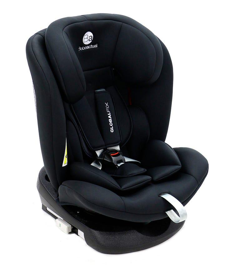 ASALVO Global Fix Car Seat Isofix Group 0123 - Black