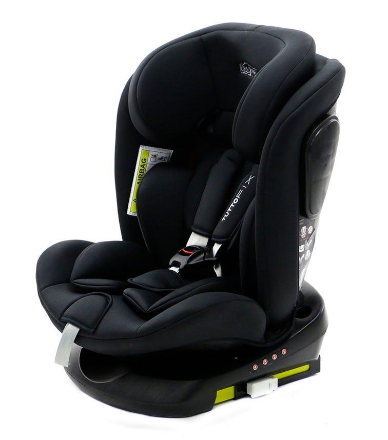 ASALVO Tutto Fix All In 1 Car Seat 360 Isofix G0123 - Black