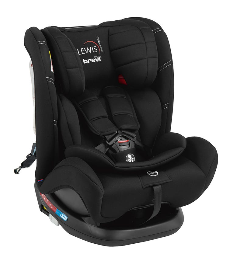 BREVI Lewis All-In-1 Car Seat Isofix Group 0123 - Black