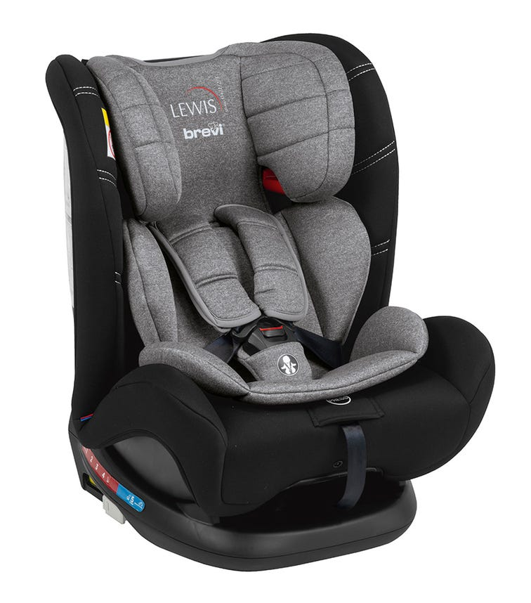 BREVI Lewis All-In-1 Car Seat Isofix Group 0123 - Grey