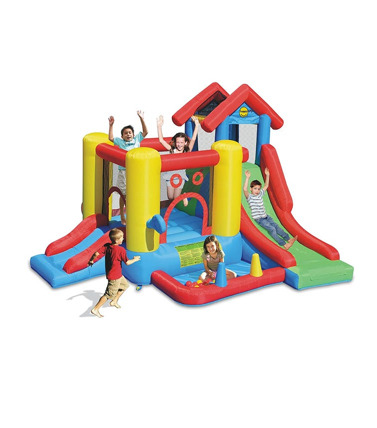 HAPPY HOP 7-In-1 Play House (300 x 360 x 235 CM)