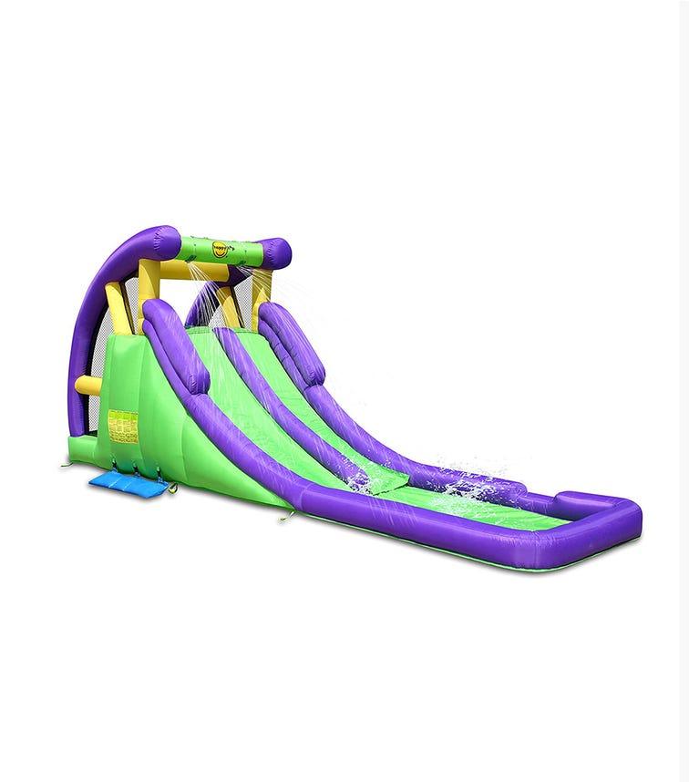 HAPPY HOP Double Water Slide (600 x 215 x 255 CM)