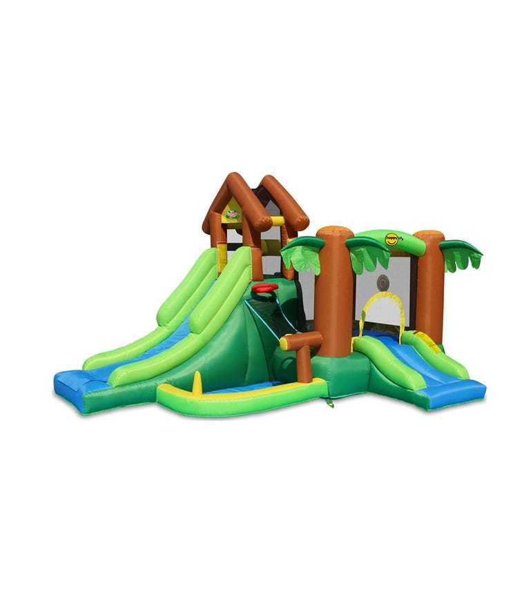 HAPPY HOP The Forest Bouncer (400 x 285 x 230 CM)