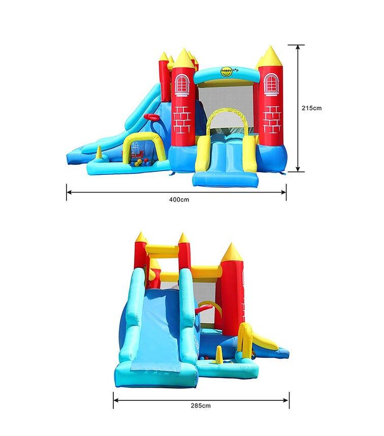 HAPPY HOP 8-In-1 Jumping Castle (400 x 285 x 215 CM)