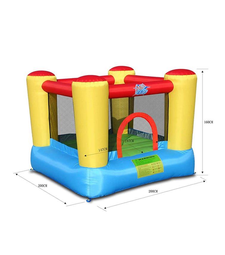 HAPPY HOP Bouncy Castle Hyper (200 x 200 x 160 CM)