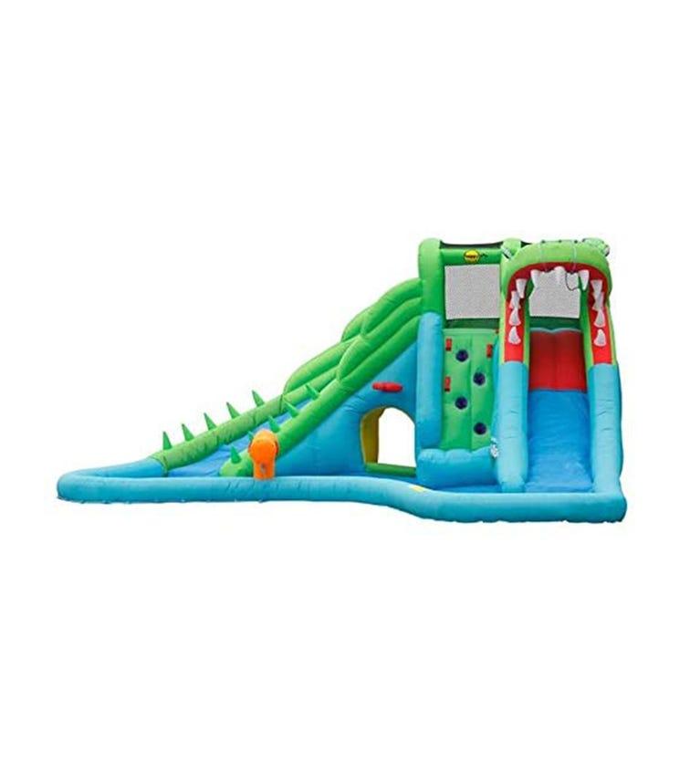 HAPPY HOP Crocodile Water Slide (570 x 515 x 240 CM)