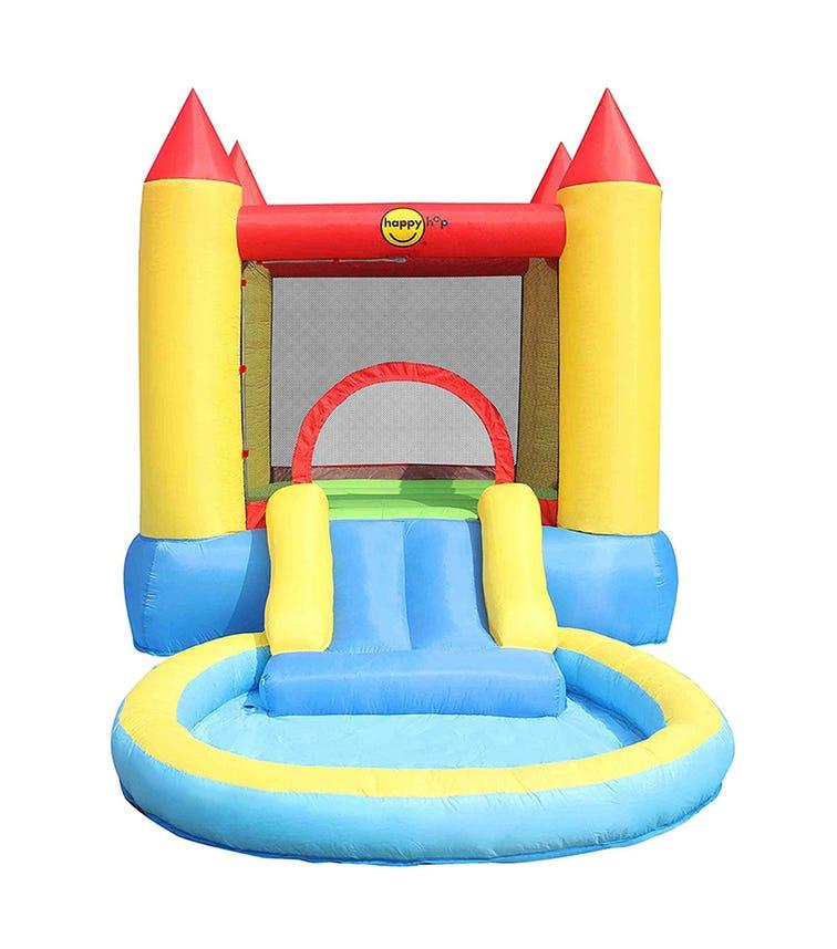 HAPPY HOP Castle Pool & Slide (365 x 200 x 190 CM)