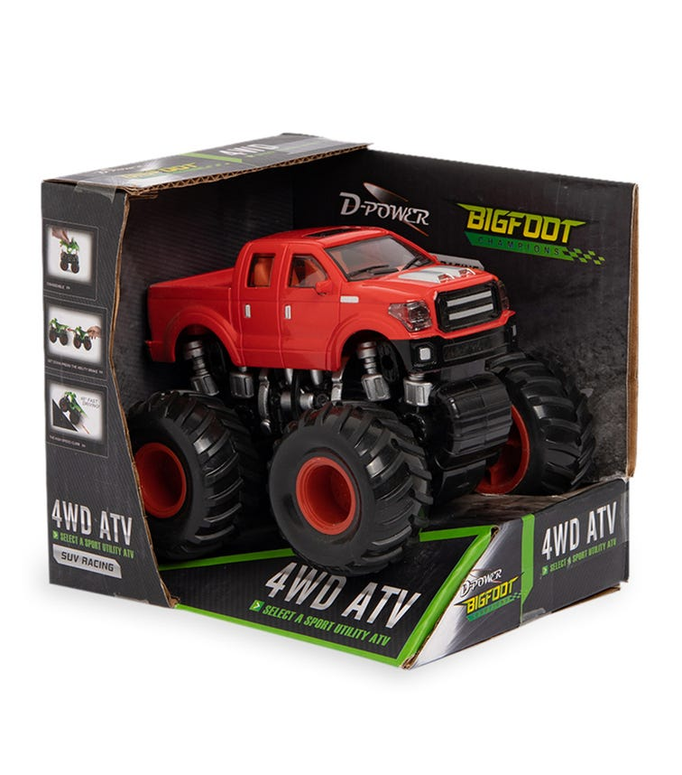 DPOWER 4WD Friction Pickup Truck