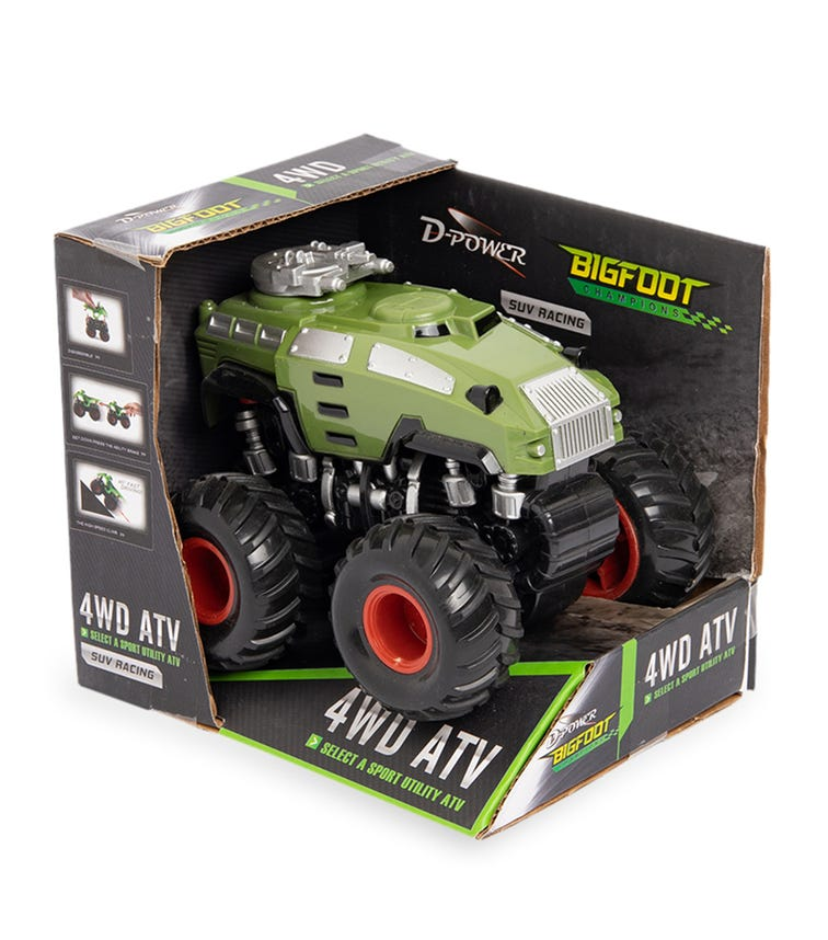 DPOWER 4WD Friction Armored Car