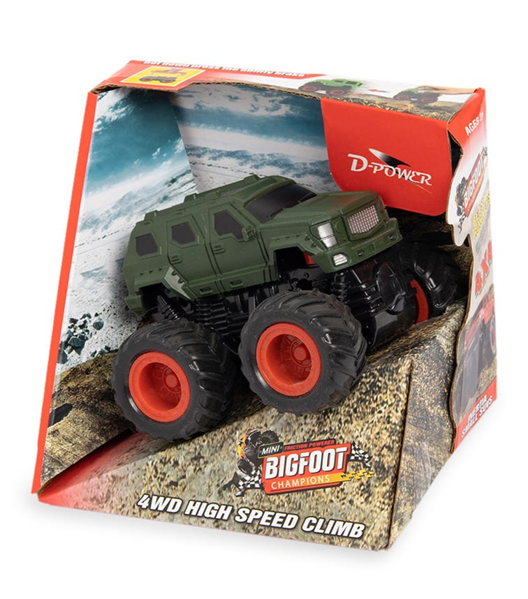 DPOWER 4WD Friction George Patton