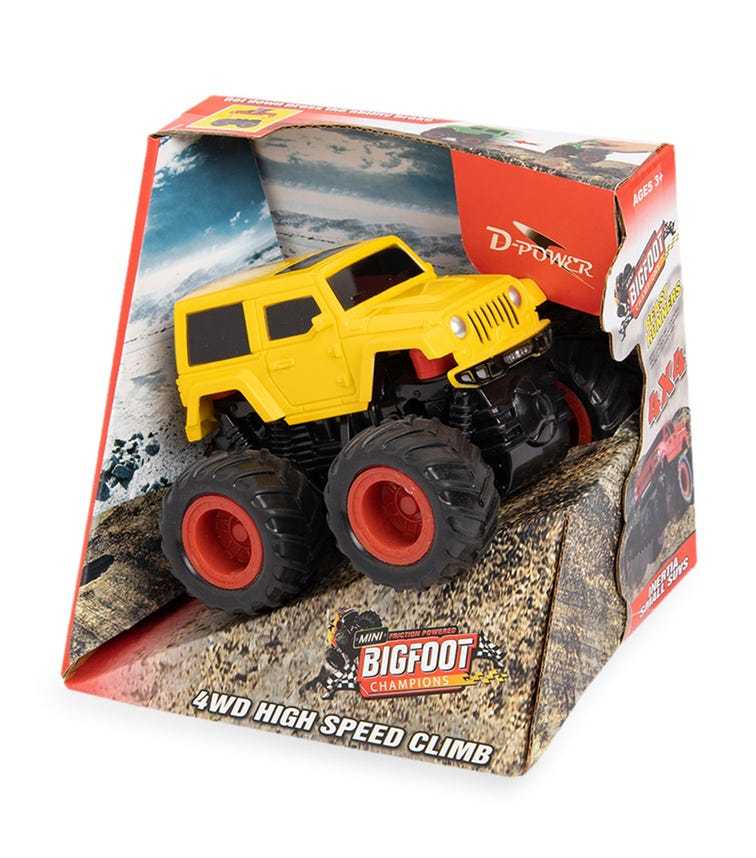 DPOWER 4WD Friction Jeep