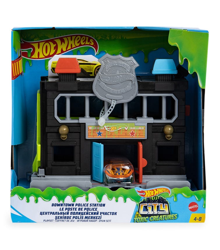 HOT WHEELS City Downtown Playset