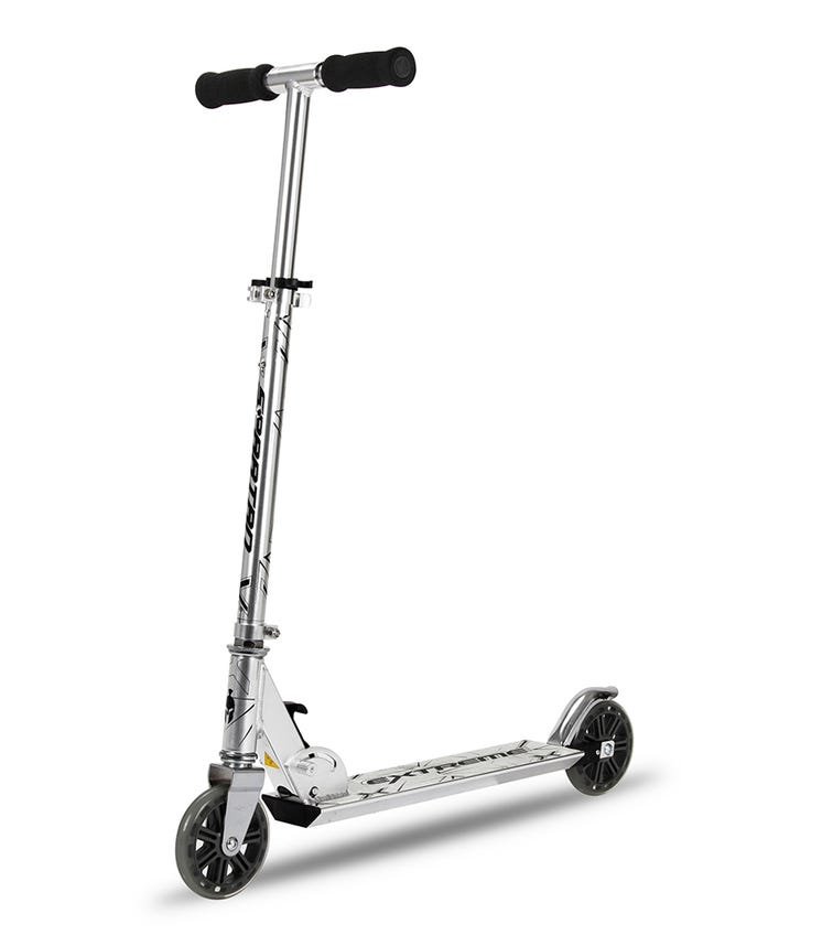SPARTAN Extreme Folding Scooter - Silver