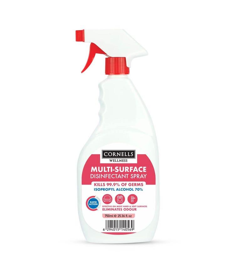 CORNELLS Multi-Surface Disinfectant Spray 750 ML