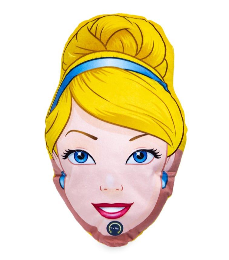 TOYWORLD Head Shape Cushion With Led Lighting - Cinderella