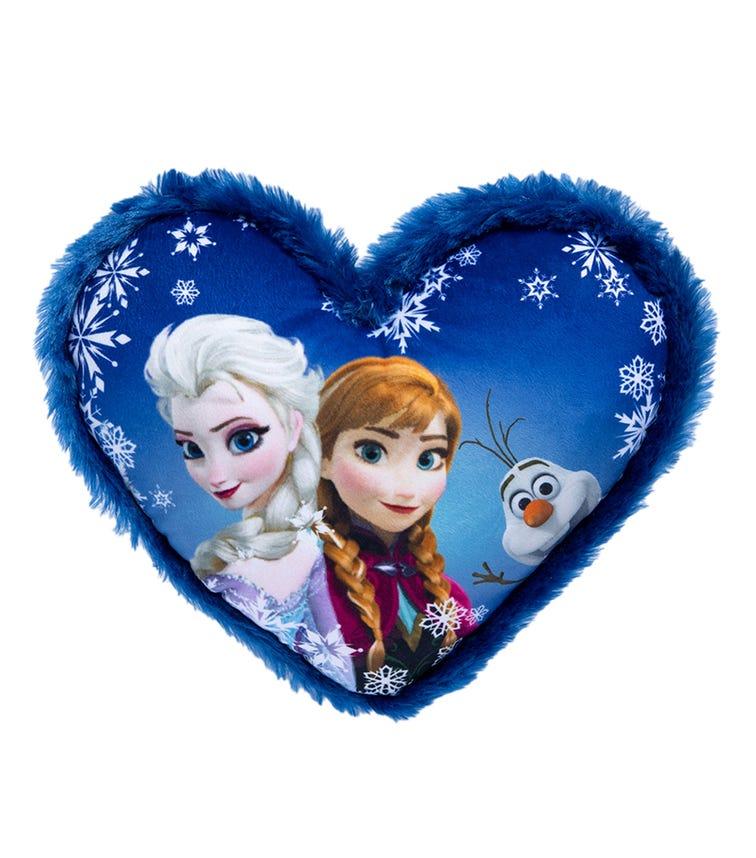TOYWORLD Frozen Heart Shaped Cushion