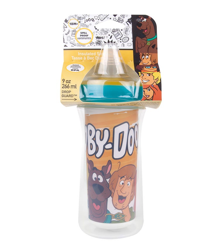 THE FIRST YEARS  Scooby Doo Insulated Straw Cup 266 ML