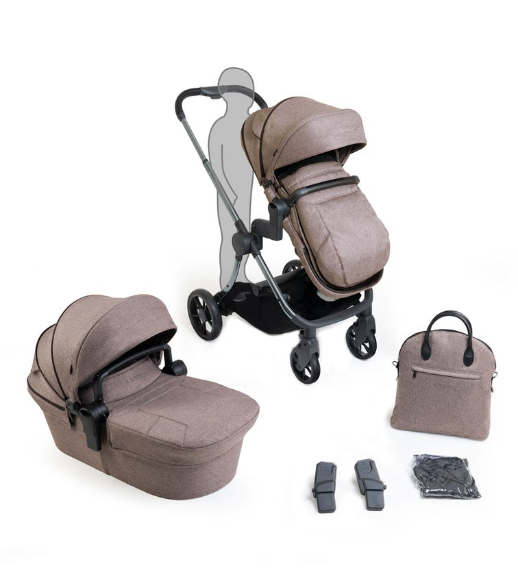 iCANDY Lime Lifestyle Modular Travel System Combo -Taupe