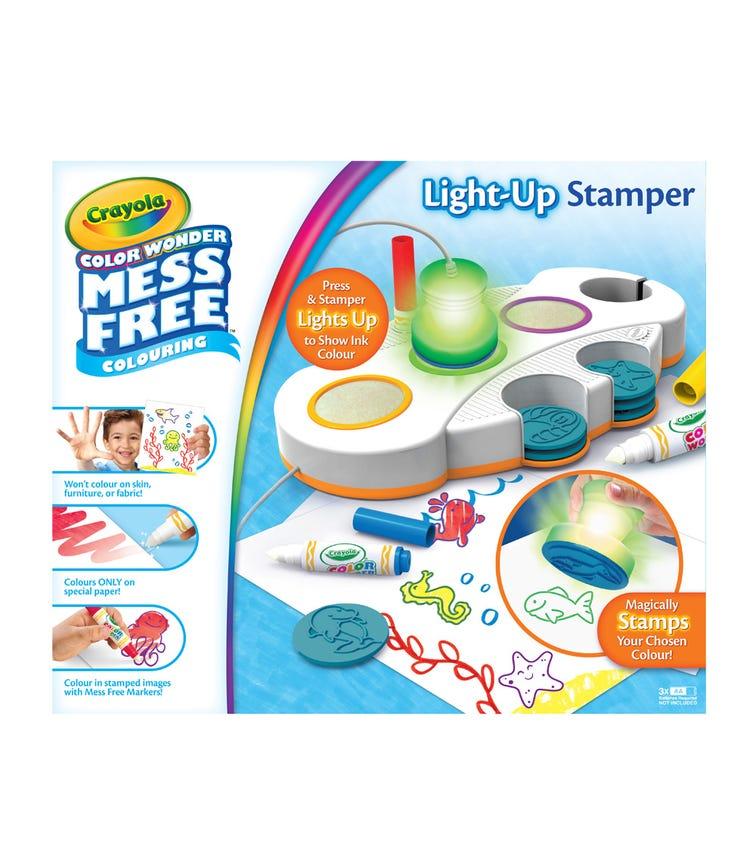 CRAYOLA Color Wonder Light Up Stamper