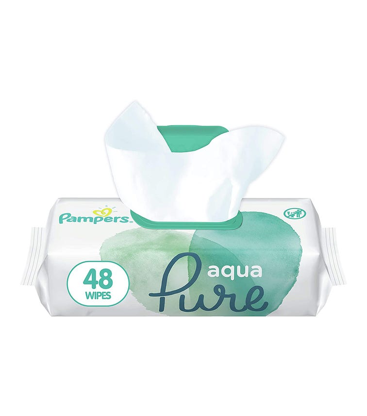 PAMPERS Wipes Pure 48