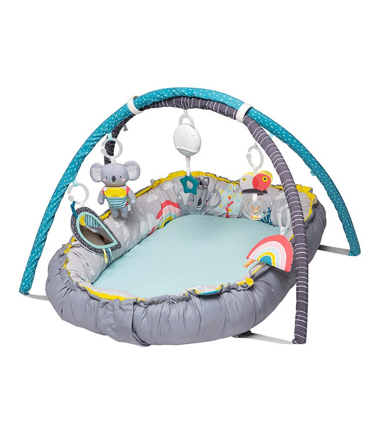 TAF TOYS 4-In-1 Baby Play-Mat And Infant Activity Gym