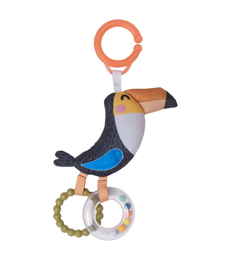 TAF TOYS Tuki The Tuccan Rattle Toy