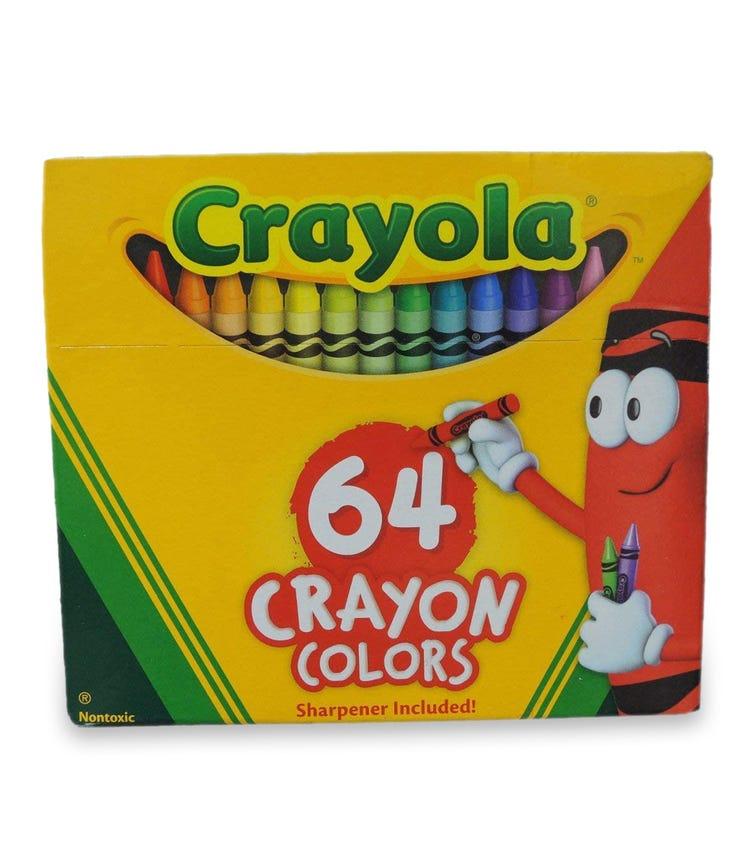 CRAYOLA 64 Crayon Set