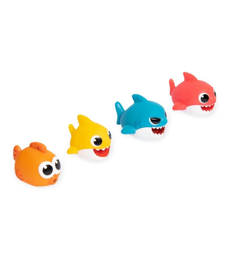 BABY SHARK Bath Squirt 4-Pack