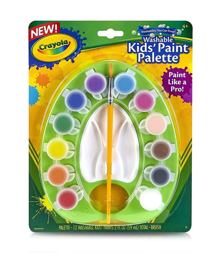 CRAYOLA Washable Kids Paint Pots Palette Set
