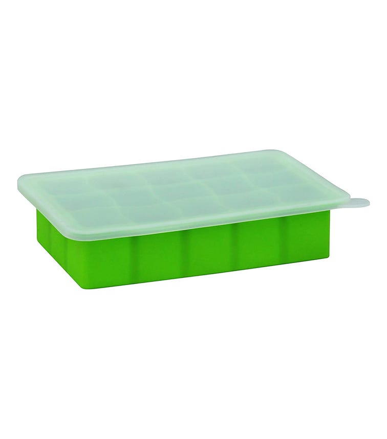 GREEN SPROUTS Fresh Baby Food Freezer Tray - Green