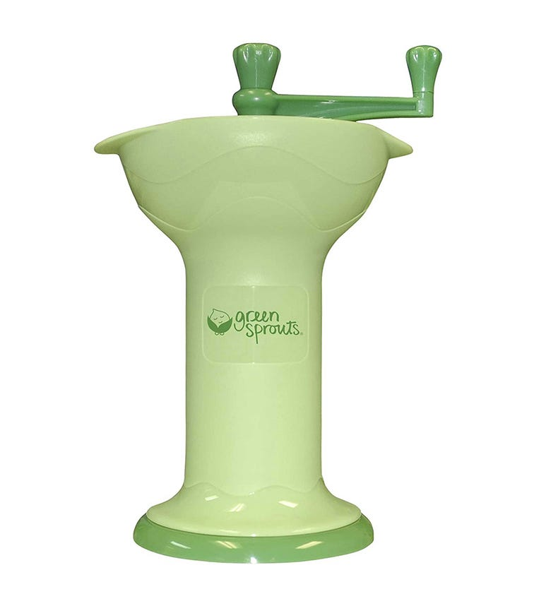 GREEN SPROUTS Fresh Baby Food Mill - Green