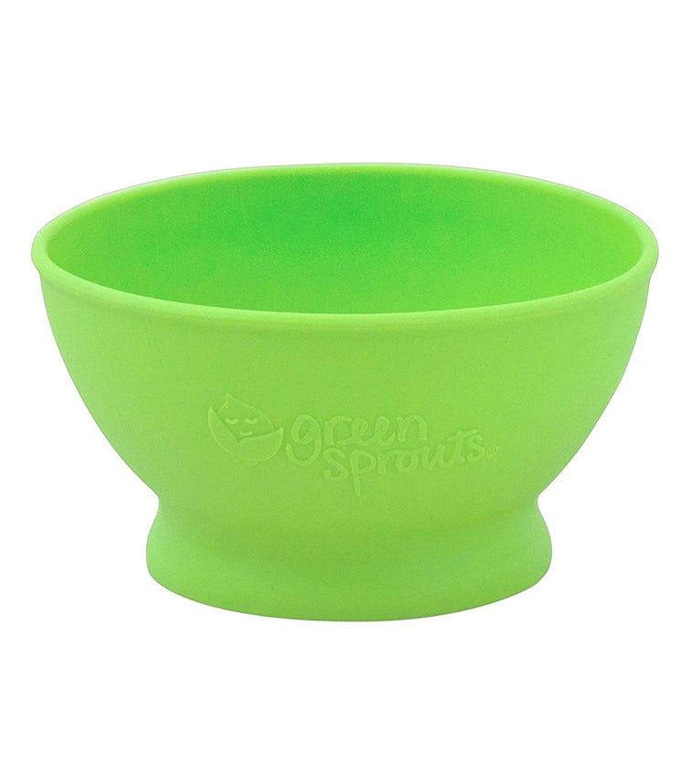 GREEN SPROUTS Feeding Bowl (6M+) - Green