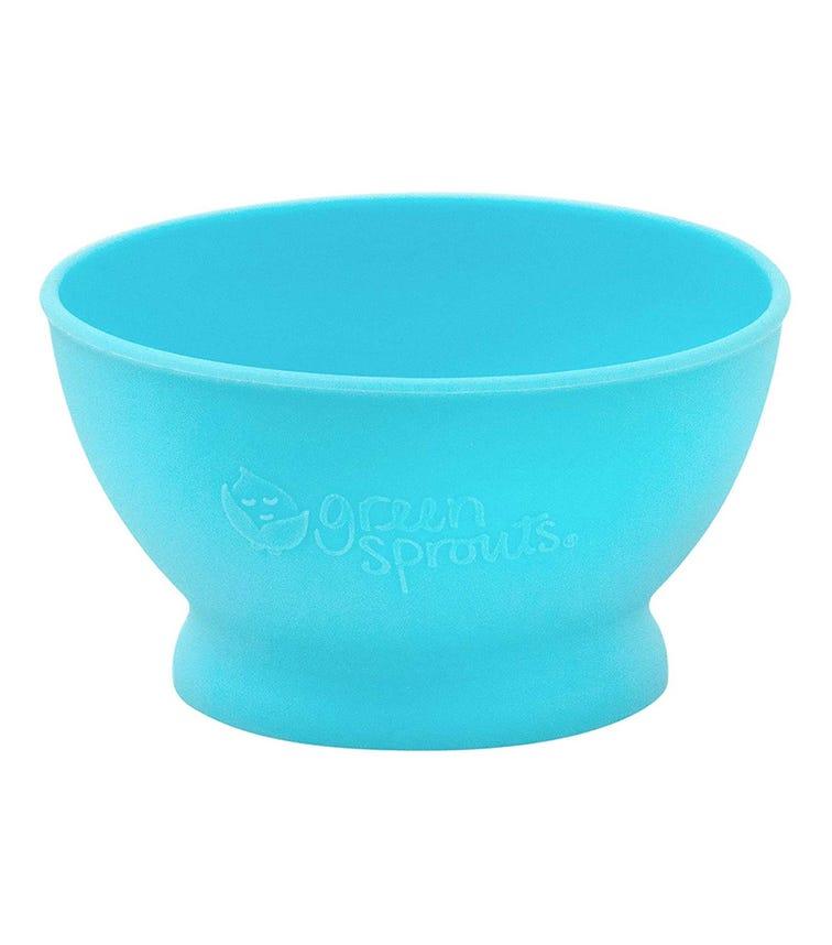 GREEN SPROUTS Feeding Bowl (6M+) - Aqua