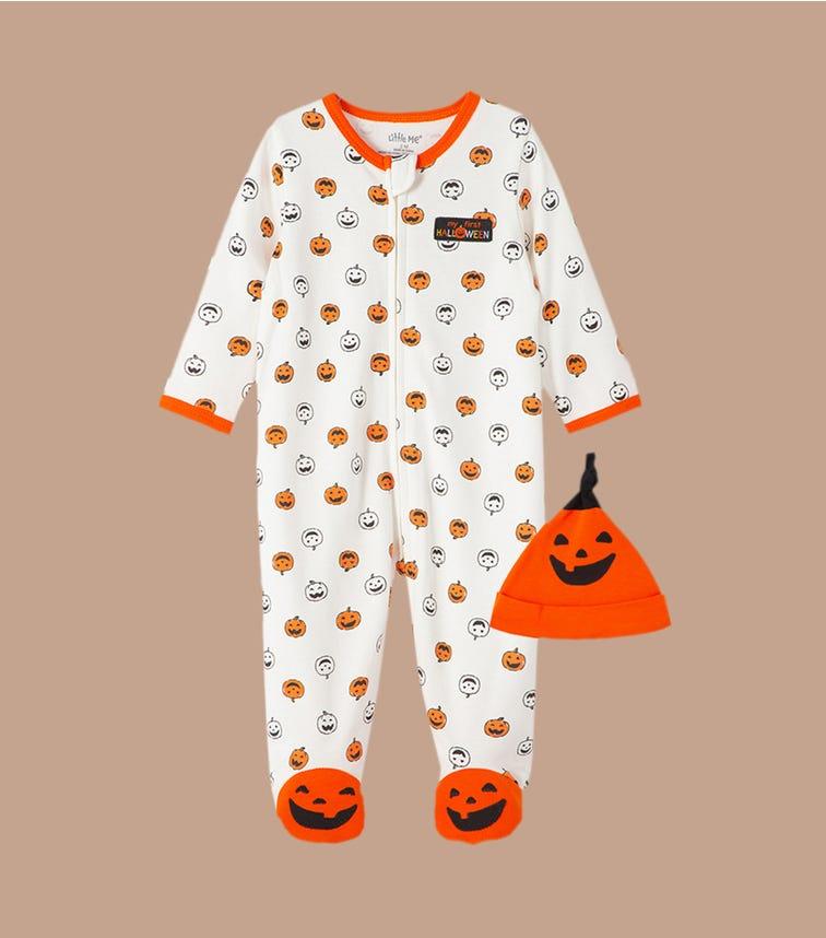 LITTLE ME Halloween 2-Piece Pjs