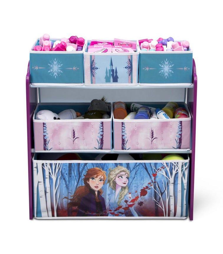 DELTA CHILDREN Frozen 2 Multi Bin Toy Organizer