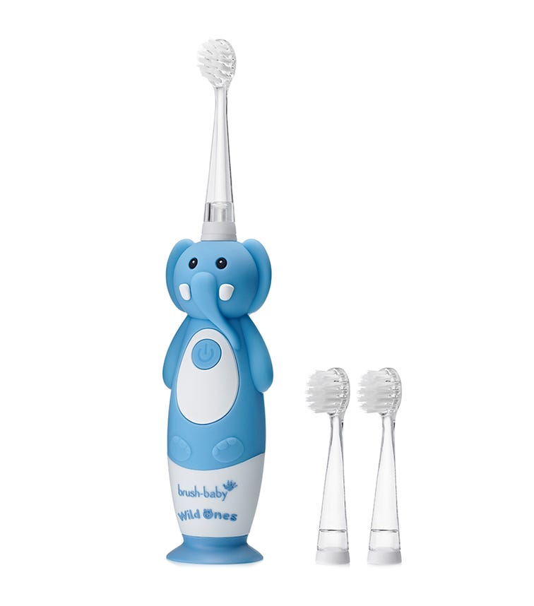 BRUSH BABY New Wild-Ones Rechargeable Toothbrush - Elephant