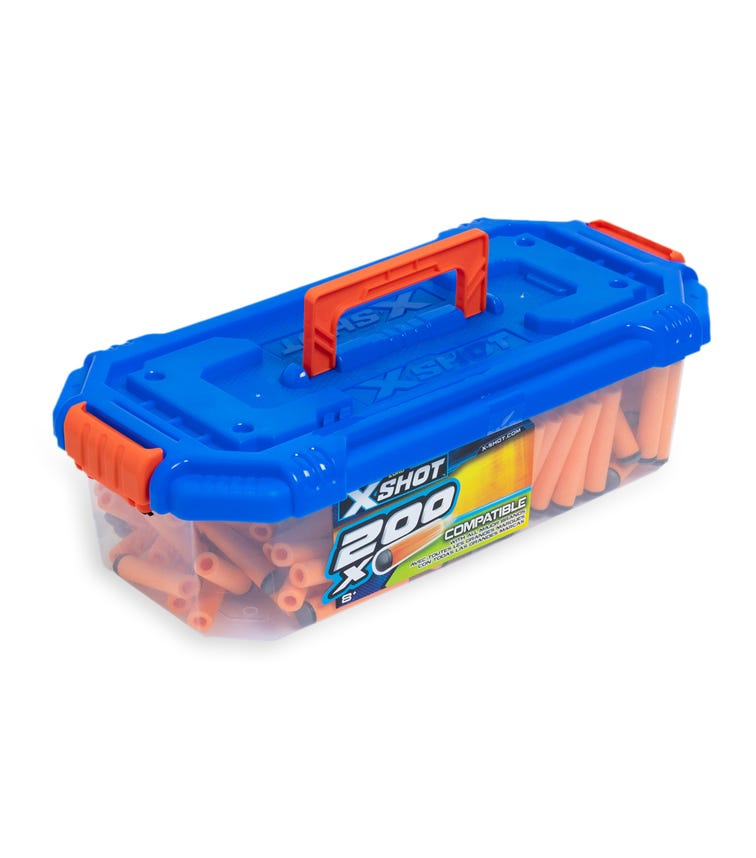 X-SHOT Excel Ultimate Value - 200 Darts Refill Carry Box