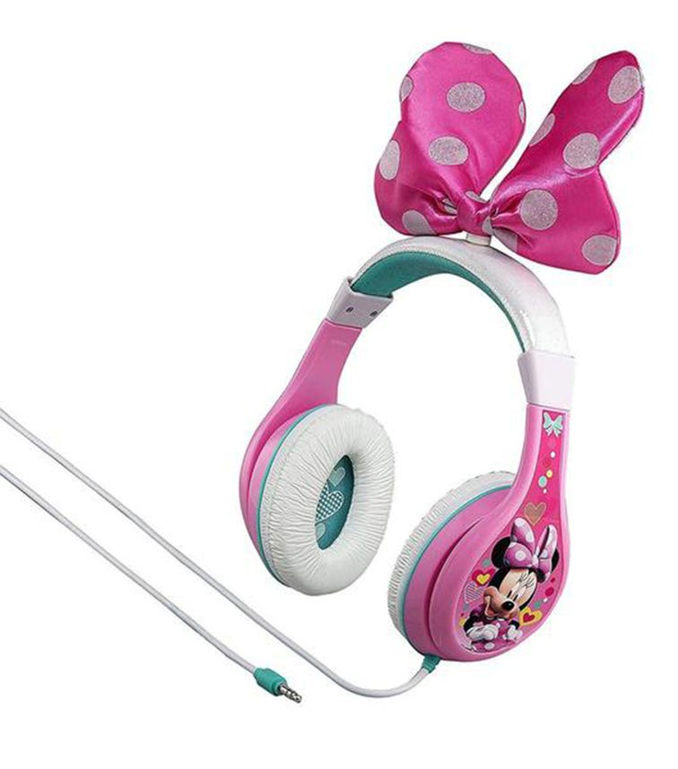 iHOME KidDesign Youth Headphones - Minnie Mouse With Bow