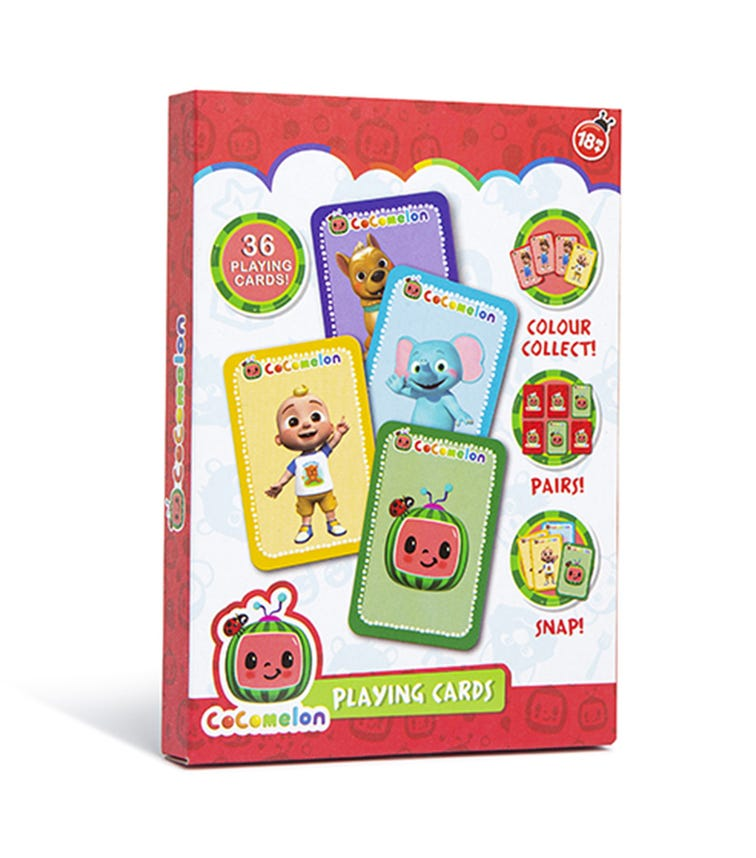 Cocomelon 36-Pack Playing Cards