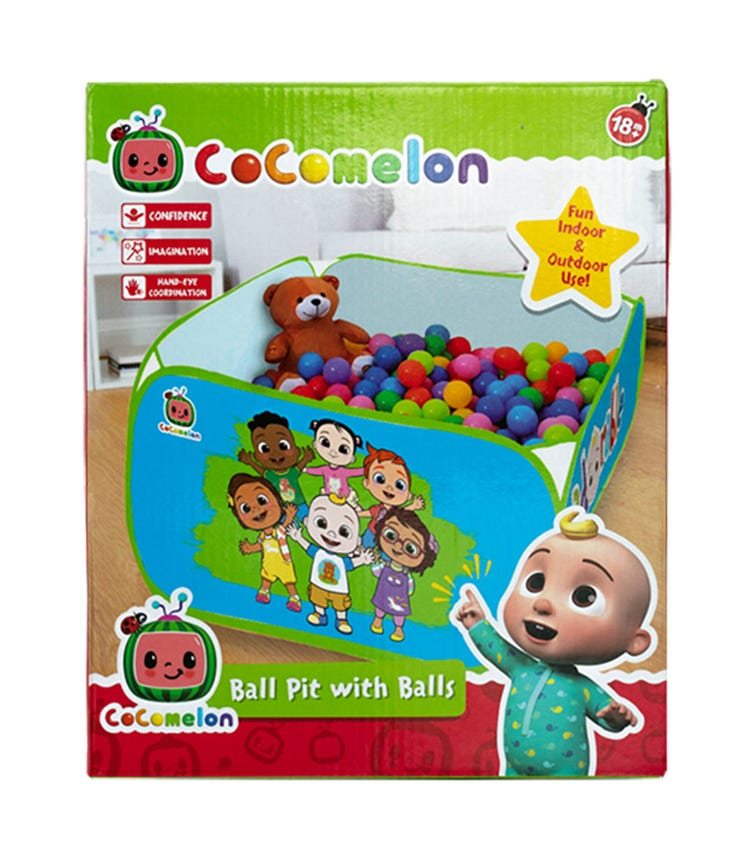 Cocomelon Dry Pool Ball Pit With Balls