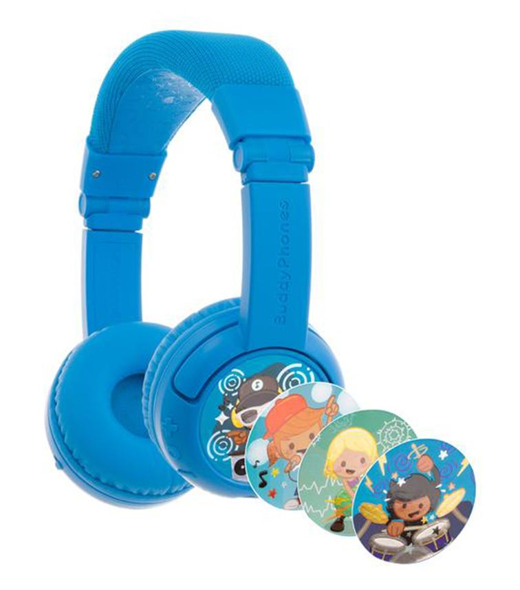 BUDDYPHONES Play Plus - Cool Blue