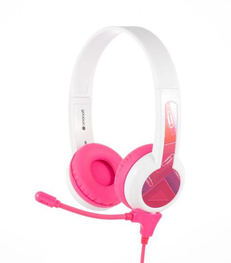 BUDDYPHONES Studybuddy Headphones - Pink