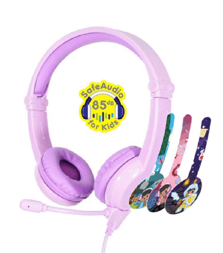 BUDDYPHONES Gaming Headphones - Galaxy Purple