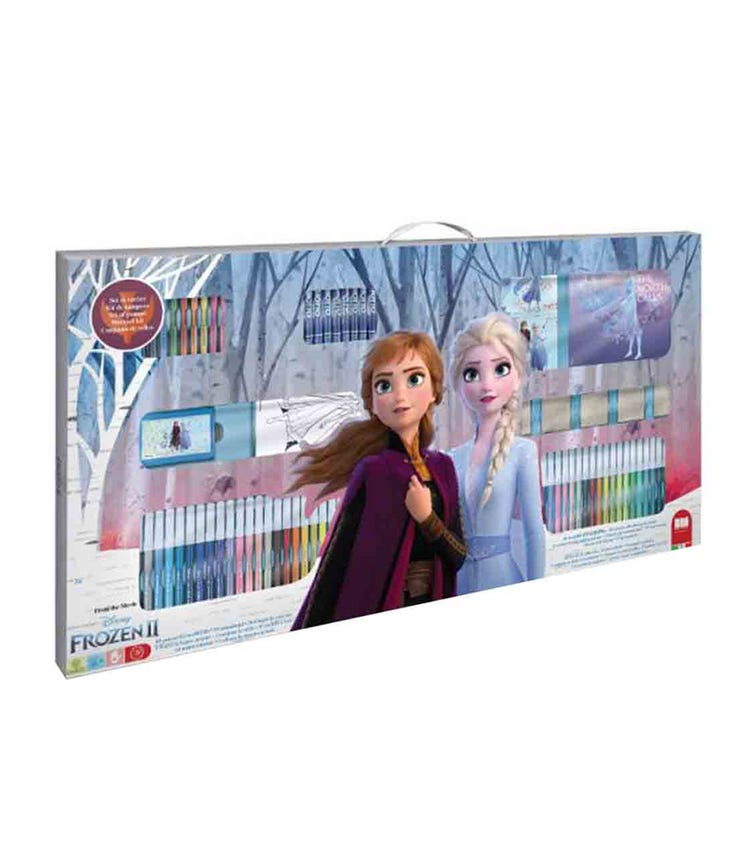 MULTIPRINT Frozen 119-Piece Mega Art Set