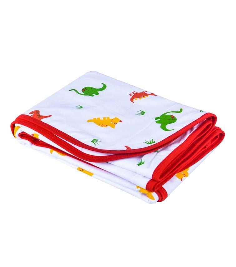 WONDER WEE Blanket - Red Dino