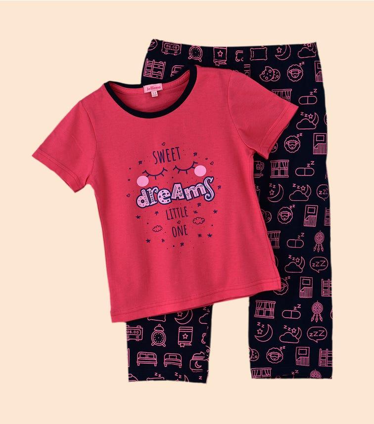 JAM Short Sleeve Pajama Set